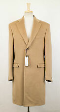 New. VERSACE MAINLINE COUTURE Brown Wool Full Length Coat Size 48/38 R $2475