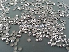 2000 Hotfix Studs, Nieten aus Metall, *silber*, SS10 ~ 3mm, Super Qualität