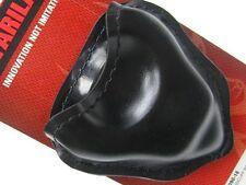 SAFARILAND Black LEATHER Open Top HANDCUFF Cuff Case Pouch New! 090-16