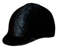 Sleazy Sleepwear Black Velvet Troxel Riding Helmet Cover Show English Hunt Seat
