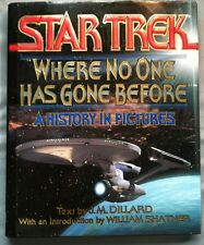 Where No One Has Gone Before by J. M. Dillard (1994, Hardcover)