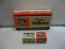 6 VINTAGE NEW OLD STOCK GE 7408 TUBES