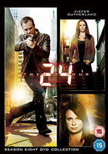 24 - SEASON 8  - DVD - REGION 2 UK