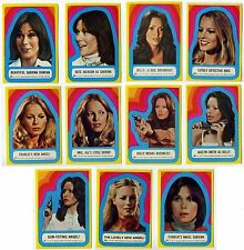 Topps 1977 Charlie's Angels Series 3 Complete Set of 11 Card Sticker #23-#33