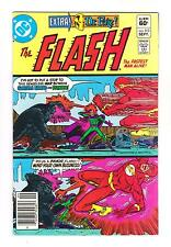 THE FLASH 313 (VF-) 3-WAY FIGHT for a SUPER-SIMIAN (FREE SHIPPING) *