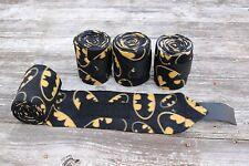 Horse Polo Leg Wraps Stable Wraps Polos Set of 4 Batman