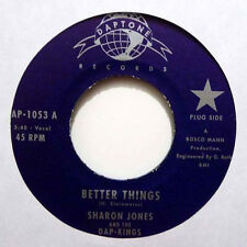 "Sharon Jones & The Dap-Kings - Meglio Things / Window Shopping (7"" Vinile) NUOVO"