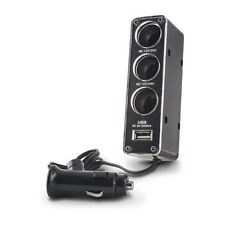 FOREVER SDOPPIATORE ADATTATORE AUTO ACCENDISIGARI 3IN1 + ENTRATA USB 500mA
