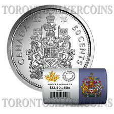 "Canada 2016 50-cent Special Wrap Circulation Roll ""25 Coins""  - Pre-Sale"