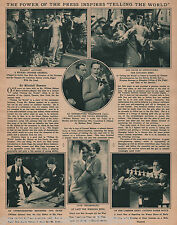 "MGM 1928 Movie Review ""Telling The World"" - Indexed"