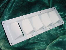 BOAT VENT LOUVER MARINE SEACRAFT SILVERTON  SEA RAY WHITE 13-1/4 X 4-3/4  NEW!!
