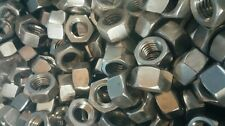 """1/2-13 X 2"""" stainless steel hex bolts full thread with nuts (20pcs)"""