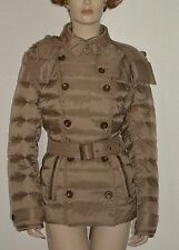 NWT BURBERRY BRIT WOMENS QUILTED PUFFER DOWN COAT JACKET SZ XL