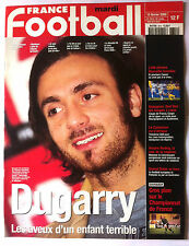 FRANCE FOOTBALL 15/02/2000; Dugarry, les aveux/ Le CAmeroun/ Championnat France