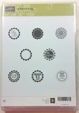 Stampin' Up! A Round Array Clear Rubber Stamp Be Mine Thank You Kindness Smile
