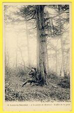 cpa LONS le SAUNIER (Jura) Pointe de MONTCIEL CHASSEUR de GRIVE Hunter Thrush