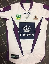 Cam Smith  Signed Melbourne Storm Player Jersey 2013 Issue qld origin