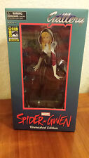 Marvel Unmasked Spider-Gwen Statue Gallery PVC 2016 SDCC Exclusive LE 3000