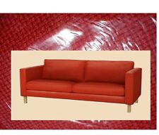 "IKEA Karlstad 3-Seat RARE Korndal Red""Tweed""Sofa Cover NEW Fire-Engine Slipcover"