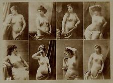 Photo A.Calavas -  albumen print - Etudes de nue pour peintre