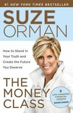 Suze Orman's THE MONEY CLASS paperback book FREE SHIPPING *Control Your Destiny*
