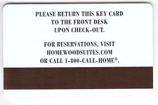 CARTE / CARD  HOTEL CLE  KEY .. HILTON HOMEWOOD SUITES 2005 FAMILY MAGNETIQUE