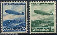 1 RARE NAZI STAMP w ZEPPELIN ON ITS 1ST FLITE TO USA Canceled 9.99 Uncanc $24.95