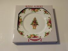 "Royal Albert OLD COUNTRY ROSES HOLIDAY 9"" Accent Salad Plate NIB w/tag"