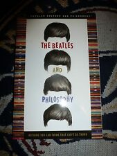 The Beatles and Philosophy (Popular Culture and Philosophy) Good Book Paperback