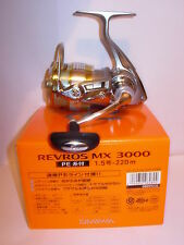 DAIWA REVROS MX3000 Spinning  Fishing Reel PRE SPOOLED 15lb X220m BRAID
