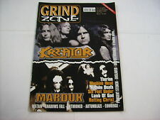 GRIND ZONE - #06/2004  MAGAZINE EXCELLENT CONDITION - KREATOR - MARDUK - THERION