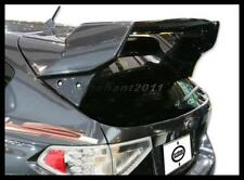 FRP Wing Fit For 08-14 Subaru Impreza GRB WRX/STI Varis Ver.1 Rear Spoiler