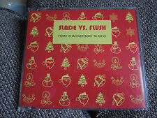 Slade vs. Flush Merry Xmas Everybody '98 Remix RARE CD Single