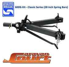 "NEW Hayman Reese 600lb 275kg Weight Distribution Hitch 28"" bars level riders"