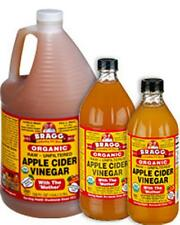 AUTH BRAGG RAW ORGANIC 'WITH THE MOTHER' APPLE CIDER VINEGAR 473 ML/16 FL OZ