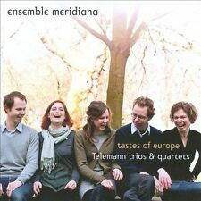 Tastes of Europe: Telemann Trios & Quartets, New Music