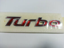 Hyundai Veloster 2012+ OEM GENUINE PARTS TURBO Emblem Rear Trunk 863172V500