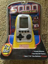 Pocket Arcade 5000 GAMES IN ONE Handheld Electronic Travel Game Westminster NEW!