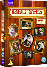 Horrible Histories . The Complete Series 1 2 3 4 5 . Season 1-5 . 10 DVD . NEU