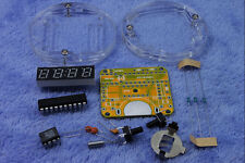 SCM LED Watch DIY Kits LED Clock Digital Watches Electronic Crystal Table