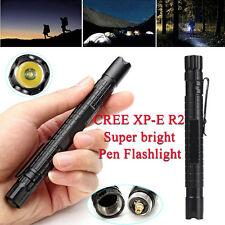 1000LM CREE XP-E R2 LED Tactical Flashlight Mini Pen Pocket Torch Light Lamp Hot