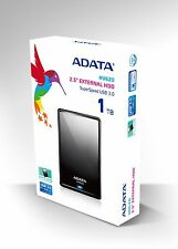 "BRAND NEW ADATA HV620 2.5"" USB3.0 External Portable Hard Drive HDD 1TB TB Black"