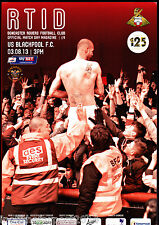 2013/14 Doncaster Rovers v Blackpool 03-08-2013 campeonato