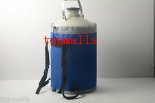 3 L Liquid Nitrogen Tank Cryogenic LN2 Container Dewar with Straps