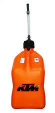 NEW OWM KTM PLASTIC GAS DRUM CAN 18 LITERS EXC SX XC SXS SXF XCF XCW 78112973000