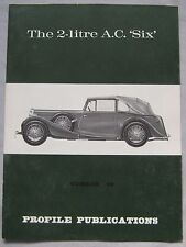Profile Publications magazine Issue 92 featuring The 2-litre AC Six