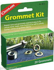 GROMMET KIT WITH 20 GROMMETS-REPLACE  GROMMETS IN MOST FABRICS, INLCUDES TOOLS