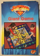 Animated SUPERMAN GIANT GAME 1998 Mint / Unused WB / Hazel Mill Made in UK