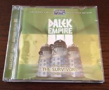 Doctor Who Dalek Empire The Survivors Part Three Audio Book Cd Rare