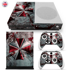 RESIDENT EVIL XBOX ONE S Wrap Skin Sticker Dust Cover CONSOLE CONTROLLERS